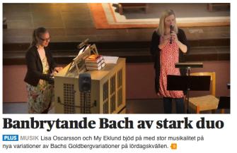 Banbrytande Bach av stark duo